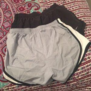 Nike shorts x2